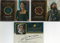 Outlander  -  Autograph & Wardrobe Card Selection NM Cryptozoic