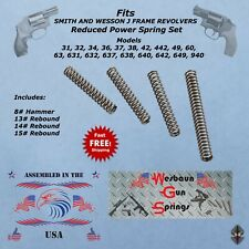 **Custom Reduced Power Spring kit For Smith and Wesson S&W J  Frame Revolvers**