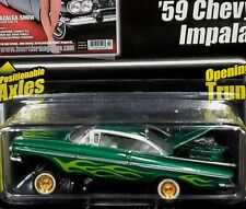 59 1959 Chevy Impala Revell Lowrider Magazine Auth Detailed Chevrolet Car Green