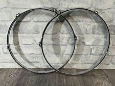 """More details for tom drum 14"""" 6 lug hoops rims hardware tension #ho119"""