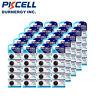 100 X CR2025 3V Lithium Watches Batteries For Tea LED Light PKCELL