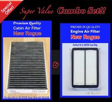 COMBO SET For NEWEST ROGUE ENGINE&CARBONIZED CABIN AIR FILTER 2014 2015 2016!!