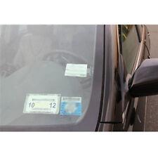3pcs Car Vehicle Parking Ticket Permit Holder Clip Sticker Windscreen WindowLD
