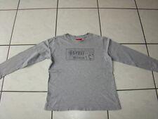 ESPRIT LA Sweat Shirt 128 134 Pullover Jungen Langarm TSHIRT Pulli grau TOP