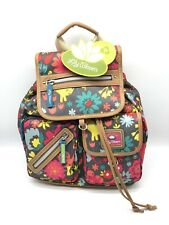 Lily Bloom Playful Garden Cats Riley Backpack ECO Friendly Recycled Bottles