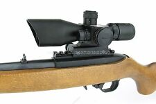 Compact CQB 2.5-10X40 Dual Illuminated Mil-Dot Red Laser Ruger 10/22 Rifle Scope