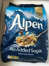 Alpen Swiss Style Muesli à grains entiers d'avoine blé petit déjeuner-ENVOI GRAT...
