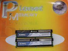 Corsair xms 4GB 2X2GB DDR2 PC2-6400 800MHz 240p NON ECC CM2X2048-6400C5C Ver5.1