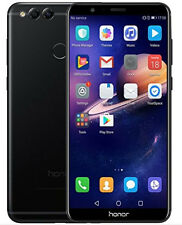 "New Huawei Honor 7X Black 5.9"" 64GB Dual Sim 4G LTE Android 7.0 Sim Free Unlocke"