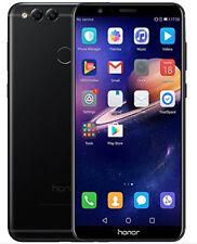 "NUOVO Huawei HONOR 7X Nero 5.9"" 64GB DUAL SIM 4G LTE Android 7.0 SIM GRATIS unlocke"