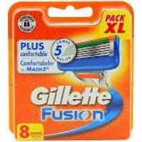 Gillette Fusion 5 Lames De Rasoir Pour Homme - 8 Recharges