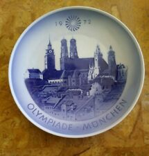 Royal Copenhagen Plate to celebrate the 1972 Olympiade - Munchen First Quality