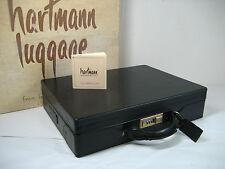 """Vintage Hartmann Luggage Belting Leather 4"""" Briefcase Attache In Original Box!"""