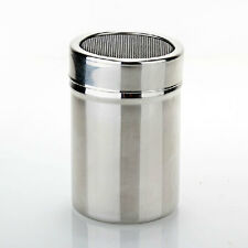 New Spice Sugar Salt Pepper Herb Shaker Storage Bottle Stainless Steel Kitchen