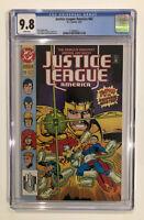 Justice League America #62 CGC 9.8 - of 1992 - Dan Jurgens