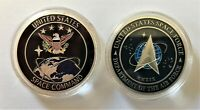 Space Force USAF United States Space Command Air Force Silver Challenge Coin #1