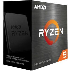 AMD Ryzen 9 5950X Desktop Processor (4.9GHz, 16 Cores, Socket AM4)