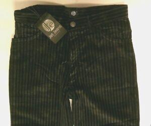 Men's Velvet Velour Pinstripe Trousers By Jet Jeans Retro Vintage