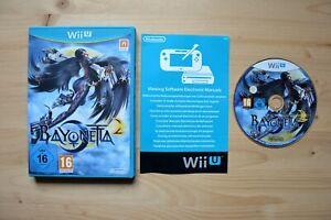 Wii U - Bayonetta 2 - (OVP, mit Anleitung)