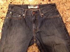 Levis Jeans men's 514 Slim Straight W 30 L30 Levi Strauss boy's zipper up denim