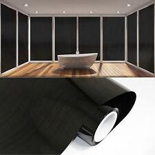 Fenster Verdunklungs Folie Sichtschutzfolie  2m x 61cm Schwarz 100% Blickdicht