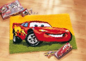 Disney's Cars 'Lightning McQueen' Rug Latch Hook Kit