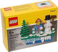 LEGO 853663 Iconic Weihnachten Magnet Schneemann Holiday Christmas Set Snowman