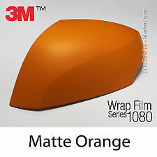 Genuine 3M 1080 M54 Matte Orange Twin Stripes kit for Ford Mustang 2015+