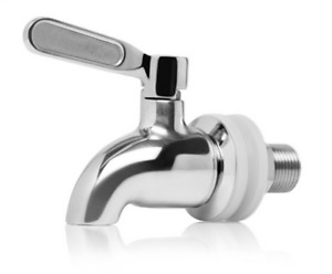 AquaHouse Stainless Steel Spigot Tap for Gravity Water Filter Systems