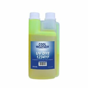 350ml UV - KONTRASTMITTEL Lecksuch Mittel R1234yf Klimaanlage — Magneti Marelli