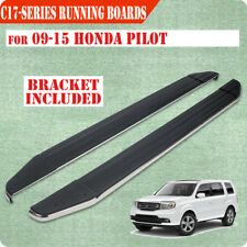 "For 09-15 Honda Pilot Sport 6"" Running Boards Rail Bar Side Step Aluminum"