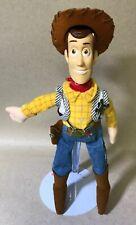 "Disney Store Toy Story Woody 11"" Bean Bag Plush"
