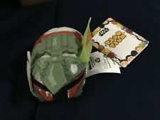 Disney Star Wars Mini Plush Tsum Tsum Battle Wear Boba Fett *NEW* j1