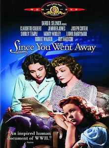 Since You Went Away DVD 1944 Claudette Colbert WAR MOVIE RARE Shirley Temple