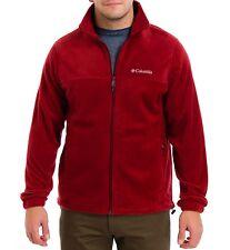 Columbia Steens Mountain Full Zip 2.0 Mens WM3220-611 Red Fleece Jacket Size M