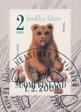 Finland 2004 Used - Brown Bear Cub - Ursus arctos - Fauna - First Day Cancel