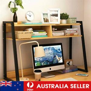 75cm Versatile Desk Hutch Home Office Large Storage Shelf Unit Organizer AU