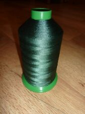 BONDED NYLON HEAVY DUTY STRONG SEWING MACHINE THREAD DARK GREEN 40's 3200m