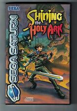 Sega Saturn  RPG SHINING THE HOLY ARK Complete Excellent Condition Manual game