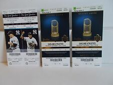 NEW YORK YANKEES TICKET COLLECTION