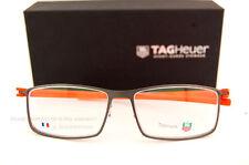 Brand New TAG Heuer Eyeglass Frames REFLEX 3901 006 ORANGE Titanium Men SZ 57