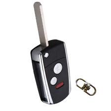 Uncut Flip Key Shell for Honda Odyssey Civic CR-V 3Bts Remote Fold Case Fobs