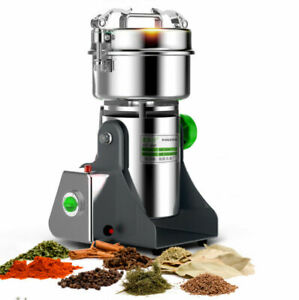 2500g Grains Mill Major Grinding Machine Grinder Food Pulverizer Stainless 220V