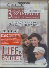 Life Is Beautiful: Widescreen Brand New Dvd (Roberto Benigni), Free S&H.