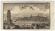 Amberg: Kupferstich J.U. Krauß, bei A.W. Ertl, 1687-1705