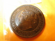 CANADA 1859 LARGE CENT DOT IN 5 & 9 DOUBLINGS COULD BE VERY RARE ID#A lot