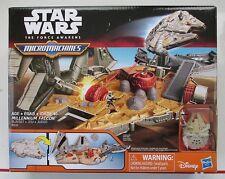 Star Wars MicroMachines Millennium Falcon Playset The Force Awakens Hasbro NEW