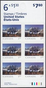 KOOTENAY PARK = FAR AND WIDE = BOOKLET of 6 stamps x1.30 MNH Canada 2020 #3226a