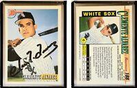 Clemente Alvarez Signed 1993 Bowman #188 Card Chicago White Sox Auto Autograph