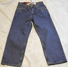 NWT Levi's 550 Husky Relaxed Blue Jeans SZ 31 x 27 1005 Cotton Dungarees